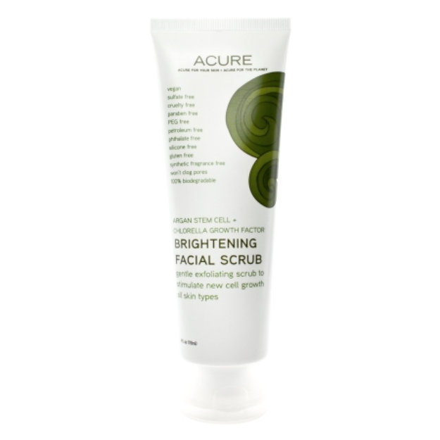 Acure Organics Brightening Facial Scrub Reviews