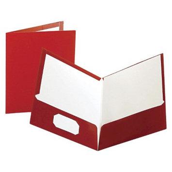 Oxford 11 x 8 1/2 High Gloss Laminated Paperboard 100-Sheet Capacity