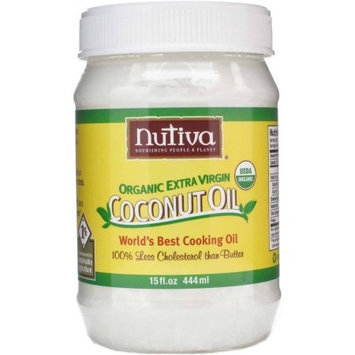 Generic Nutiva Organic Extra Virgin Coconut Oil, 15 fl oz