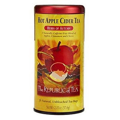 The Republic of Tea, Hot Apple Cider Tea, 36-Count