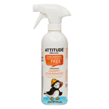 Attitude Little Ones Laundry Stain Remover Concentrated, Fragrance Free, 16 fl. Oz