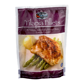 The Great Fish Co. Tilapia Fillets