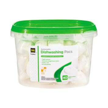 DG Home Automatic Dishwashing Pacs - 40 Pack
