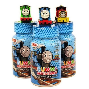 Health Science Labs Thomas & Friends Gummy Multivitamin Dietary Supplement, 60-count Bottles (Pack of 3)