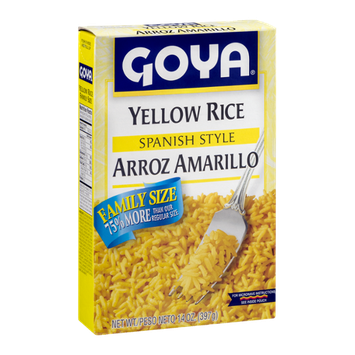 Goya Yellow Rice Spanish Style