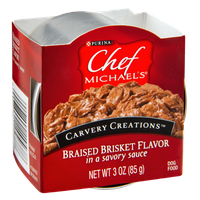 Purina Chef Michaels Carvery Creations Braised Brisket Flavor Dog Food