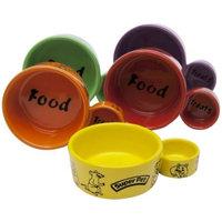 Super Pet Eat-N-Treat Ceramic Double Dish, Small