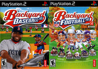 Atari Backyard Baseball 2010 and Backyard Football 2010 2Pack