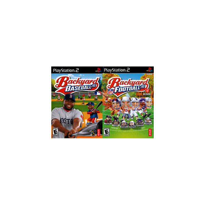 Atari Backyard Baseball 2010 and Backyard Football 2010 2Pack
