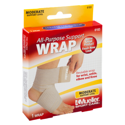 Mueller Sport Care Moderate Support Level All-Purpose Support Wrap