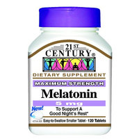 21st Century Melatonin 5mg