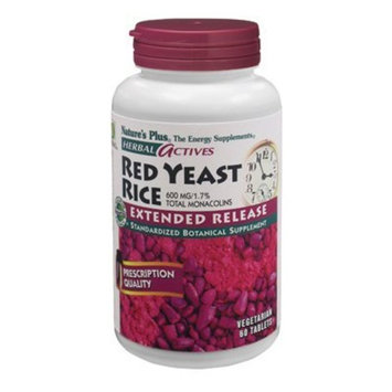 Nature's Plus - Extended Release Red Yeast Rice 600Mg Tabs 60 (7361)