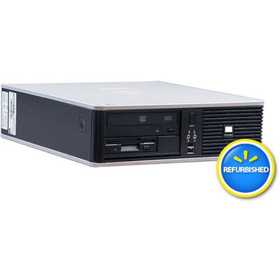 Compaq HP Pre-Owned, Refurbished DC7900 Small Form Factor Desktop PC with Intel Core 2 Duo Processor, 4GB Memory, 750GB Hard Drive and Windows 7 Pro (Monitor Not Included)
