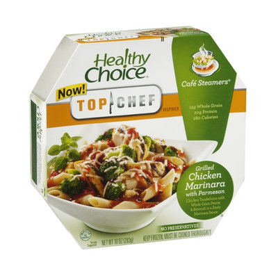 Healthy Choice Top Choice Cafe Steamers Grilled Chicken Marinara with Parmesan
