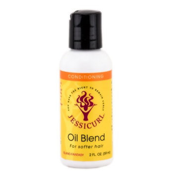 Jessicurl Oil Blend for Softer Hair - Island Fantasy - 2 oz