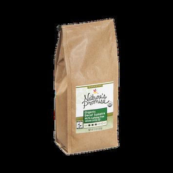 Nature's Promise Organics Ground Coffee Organic Decaf Sumatra