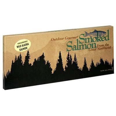 Kasilof Outdoor Gourmet Smoked Salmon From The Great Northwest 16-Ounce Unit