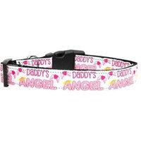 Ahi Mirage Pet Products 125-107 MD Daddys Angel Dog Collar Medium