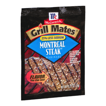 McCormick Grill Mates Montreal Steak Marinade
