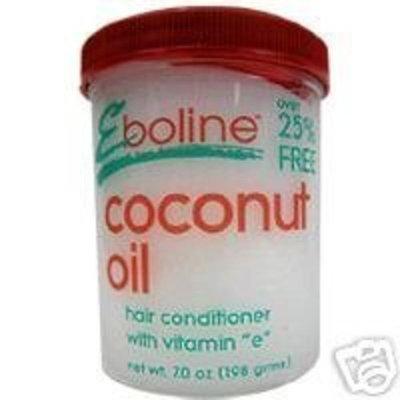 EBONEEN PRODUCTS Eboline coconut oil hair conditioner with vitamin E - 7 oz