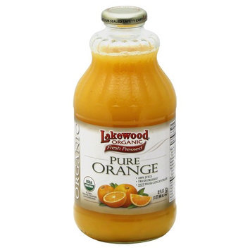 Lakewood Organic Pure Orange Juice 32 Ounce