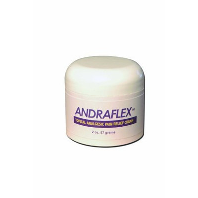 Celadrin RX AndraFlex RX Topical Analgesic Pain Relief Cream, 2-Ounce Jars (Pack of 2)