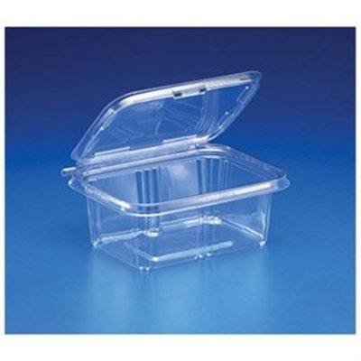 Inline Safe T Fresh Tamper Evident 32 oz Plastic Clear Hinged Container 200 CT