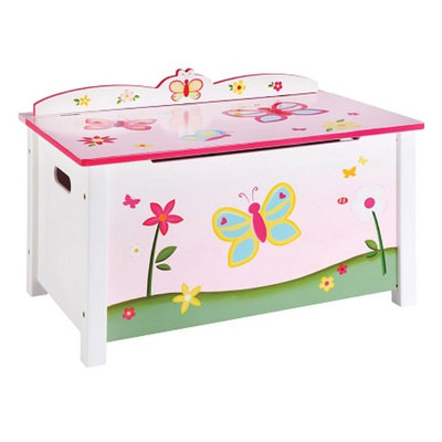 Guidecraft Butterfly Buddies Toy Box