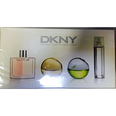 DONNA KARAN DKNY Mini Parfum Spray Set (DKNY 7 ml plus Be Delicious 7 ml plus Golden Delicious 7 ml plus DKNY Energizing 4 ml)