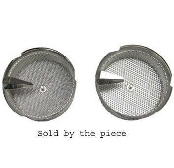 L. Tellier Replacement Grid/Grill/Sieve, Stainless Steel, For X5 8-Qt Mouli Mill - 4mm