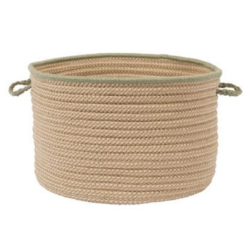 Colonial Mills Boat House Tweed Olive 24 x 14-Inch Basket