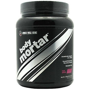 Advanced Muscle Science Body Mortar, Fruit Punch, 1350-gram (30 serving)Tub