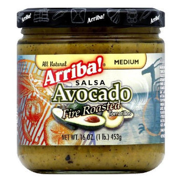 KeHe Distributors 82886 ARRIBA SALSA MANDRIN AVOCADO - Pack of 6 - 16 OZ