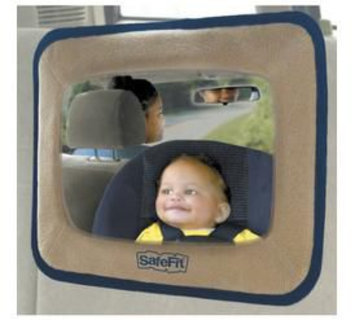 Safefit Baby In-Sight Large Back Seat Infant Auto Mirror