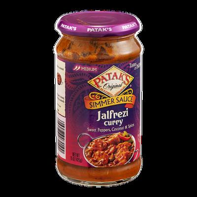 Patak's Tastes Of India Jalfrezi Curry Simmer Sauce