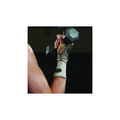 Mueller Life Care Contour Wrist Support Sleeve, Taupe - Medium 7.5-8.5