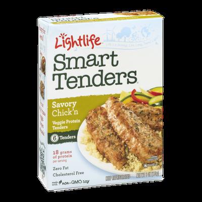 Lightlife Smart Tenders Savory Chick'n - 6 CT