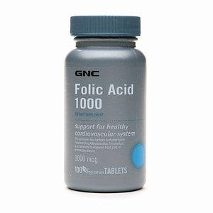 GNC Folic Acid 1000