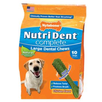 Nylabone NutriDent Complete Large Dental Dog Chews