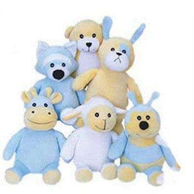 Our Pet's Fluffles Stuffed Dog Toys, 6-Piece Assorted Pack