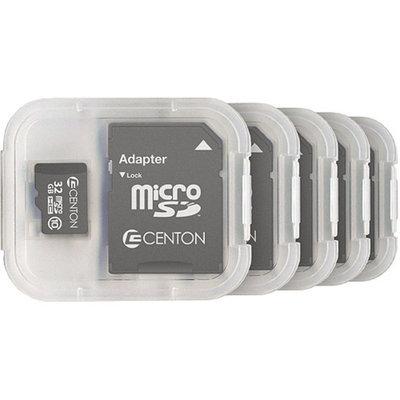 CENTON Centon MP Essential 32GB Class 10 microSDHC Card, 5pk
