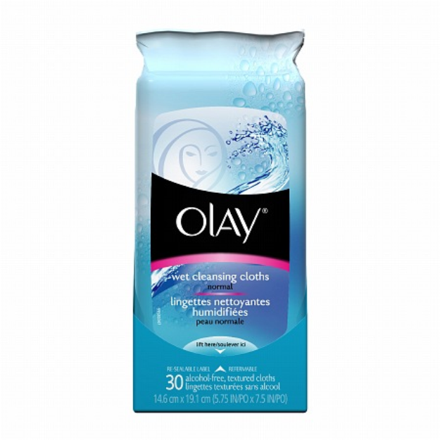 Olay Wet Cleansing Cloths Normal