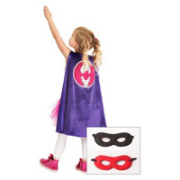 Little Adventures Bat Cape With Hero Mask Black/Red