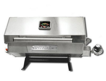 Dickinson Marine 00-SPT-180 Spitfire180 Stainless Marine Grill