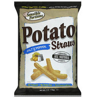 Sensible Portions Salt & Pepper Straws Potato Chips