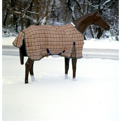 Baker Turnout Blanket 64 Original Plaid