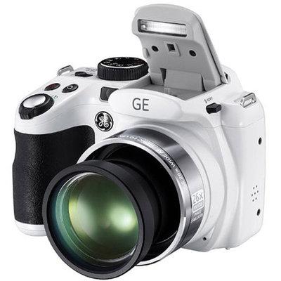 GE Refurbished White X600-WH Digital Camera with 14.4 Megapixels and 26x Optical Zoom