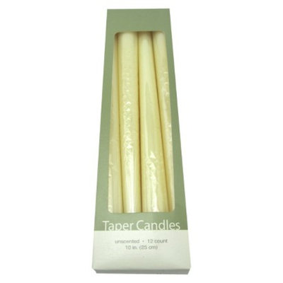 Room Essentials B 12CT TAPER B 12CT IVORY UNSCENTED