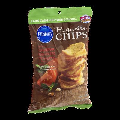 Pillsbury Baquette Chips Cheddar Sun-Dried Tomato