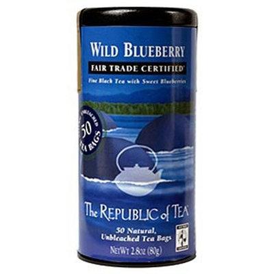 The Republic of Tea, Wild Blueberry Black Tea, 50-Count